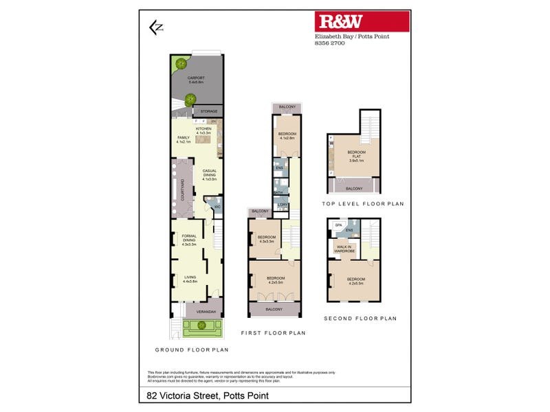 82 Victoria Street, Potts Point, NSW 2011 - floorplan