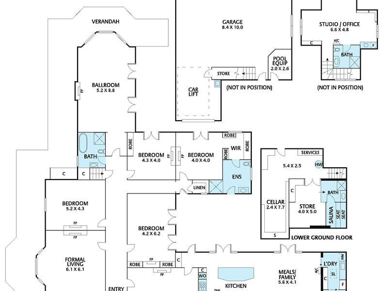 14 Vista Avenue, Kew, Vic 3101 - floorplan