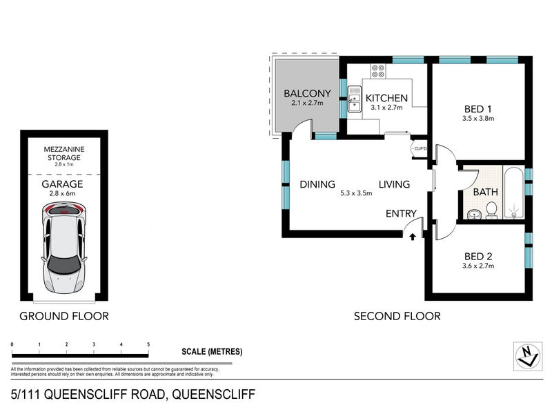 5/111 Queenscliff Road, Queenscliff, NSW 2096 - floorplan