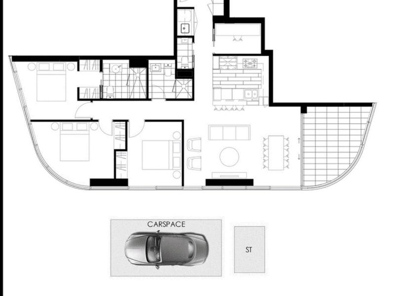 1208/8 Walker St, Rhodes, NSW 2138 - floorplan