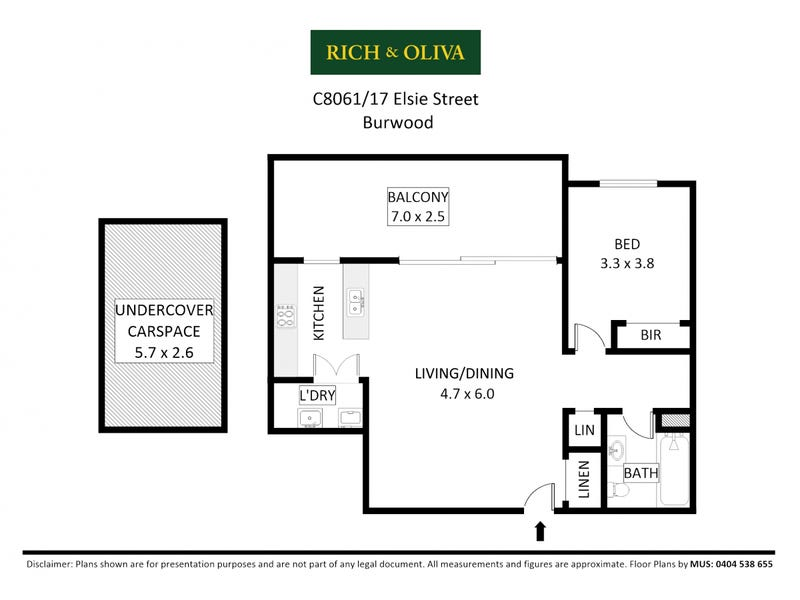 C806/1-17 Elsie Street, Burwood, NSW 2134 - floorplan