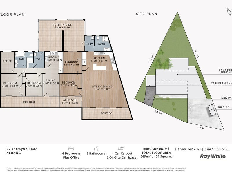 27 Yarrayne Road, Nerang, Qld 4211 - floorplan