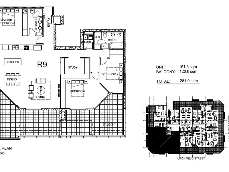 2001/43 Knuckey Street, Darwin City, NT 0800 - floorplan