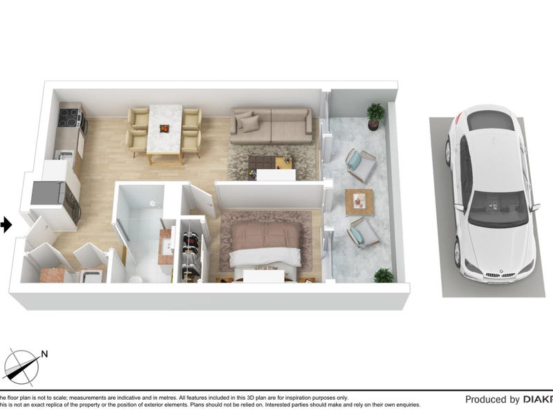 111/98 Nicholson Street, Brunswick East, Vic 3057 - floorplan