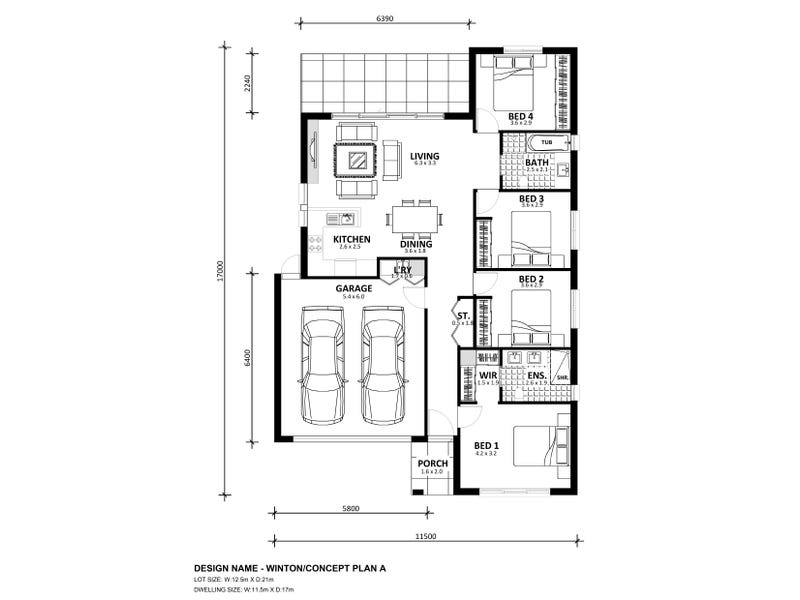 Lot 614 Platform Estate, Donnybrook, Vic 3064 - floorplan