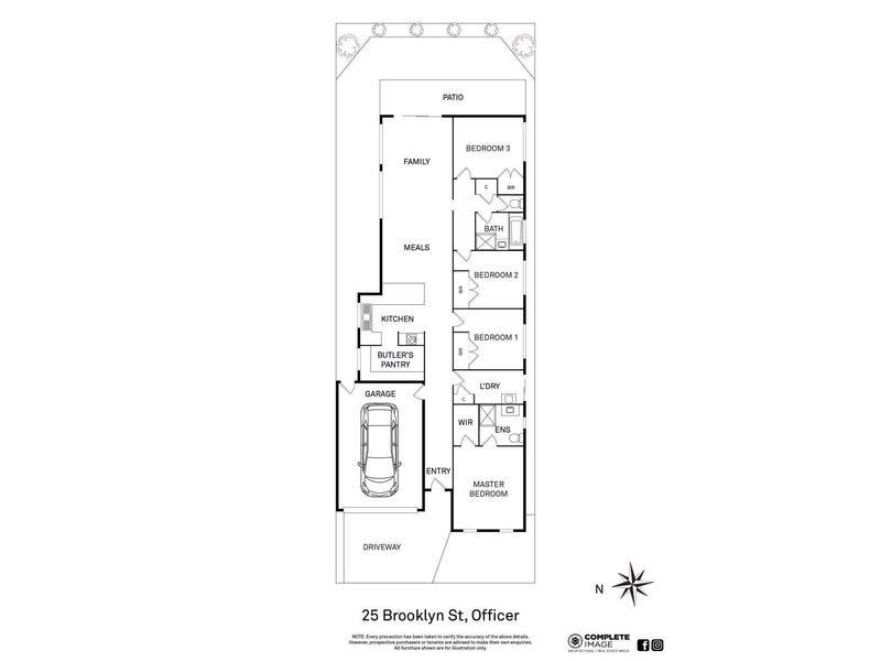 25 Brooklyn Street, Officer, Vic 3809 - floorplan