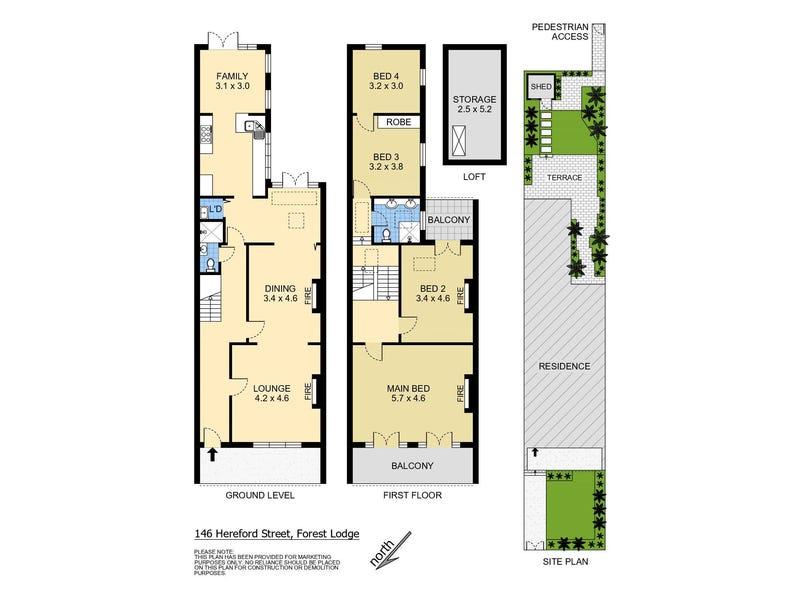 146 Hereford Street, Forest Lodge, NSW 2037 - floorplan