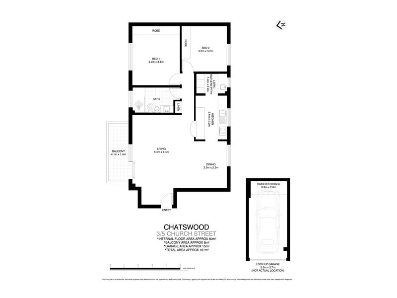 3/5 Church Street, Chatswood, NSW 2067 - floorplan