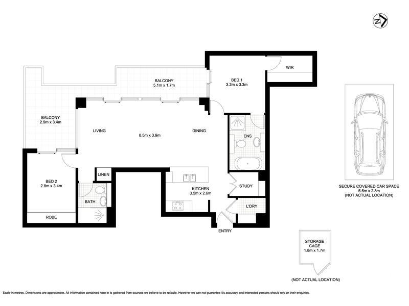 563/132-138 Killeaton Street, St Ives, NSW 2075 - floorplan