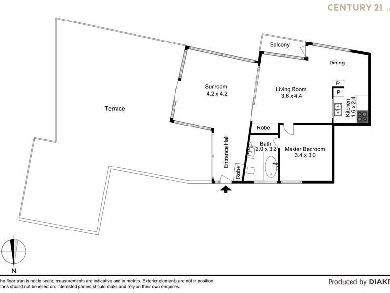 35/2 Clifford Street, Mosman, NSW 2088 - floorplan