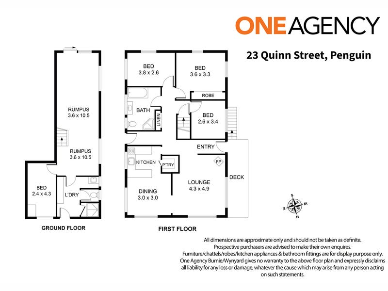 23 Quinn Street, Penguin, Tas 7316 - floorplan