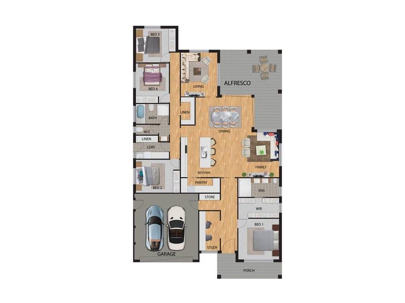 34  Serventy Street, Wright, ACT 2611 - floorplan