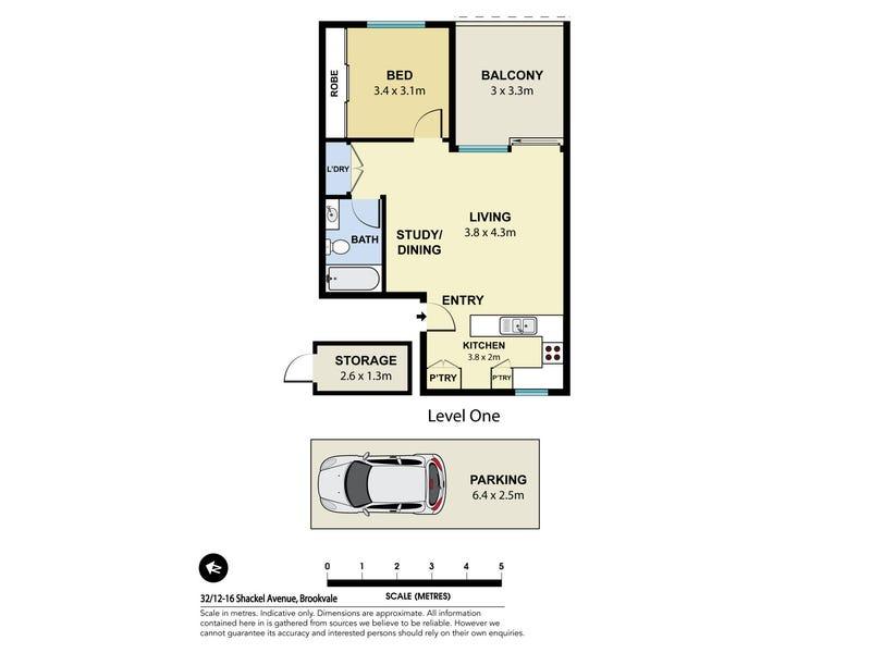 32/12-16 Shackel Avenue, Brookvale, NSW 2100 - floorplan