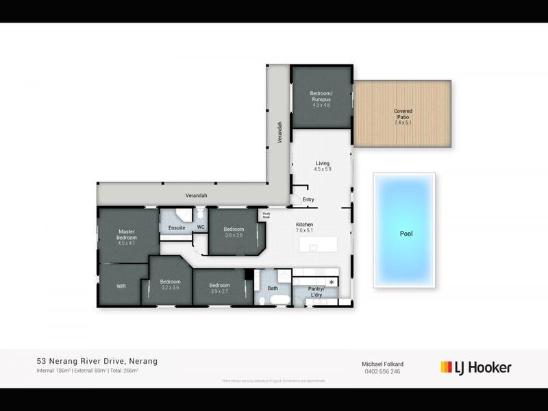 53 Nerang River Drive, Nerang, Qld 4211 - floorplan