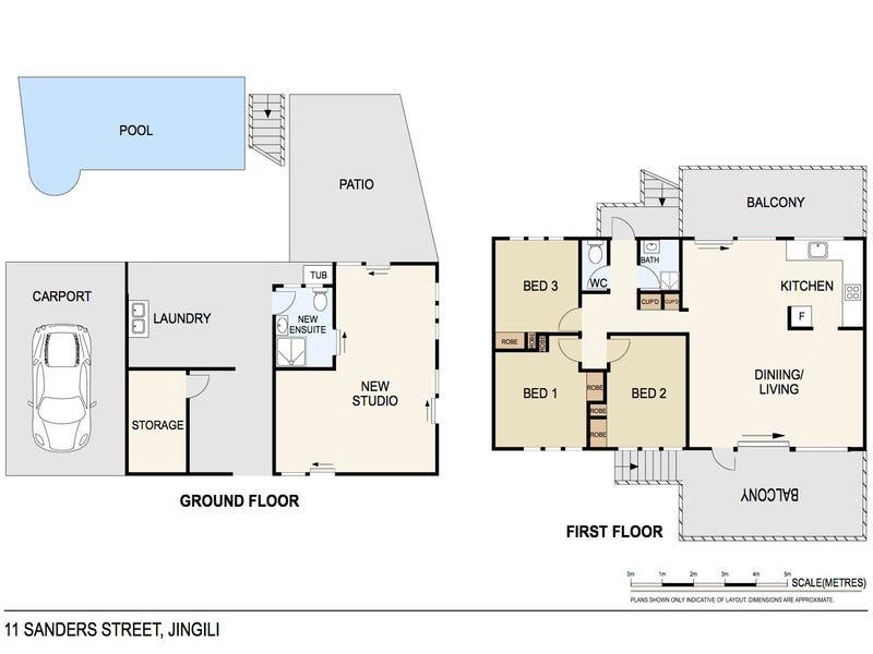 11 Sanders Street, Jingili, NT 0810 - floorplan