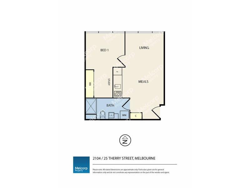 2104/25 Therry Street, Melbourne, Vic 3000 - floorplan