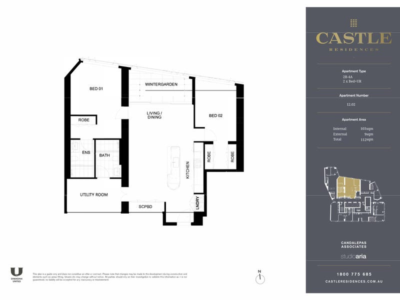 12.02/203 Castlereagh Street, Sydney, NSW 2000 - floorplan