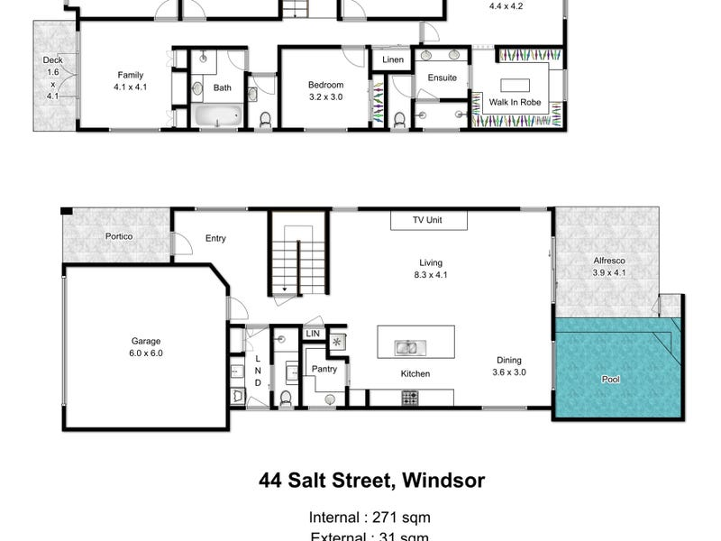 44 Salt Street, Windsor, Qld 4030 - floorplan