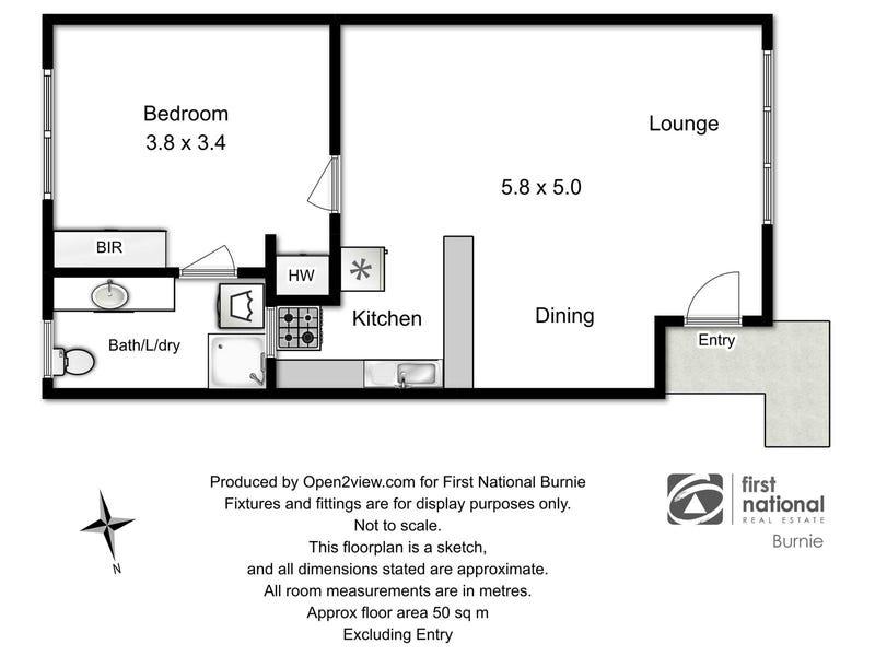 2/16 Roslyn Avenue, Romaine, Tas 7320 - floorplan