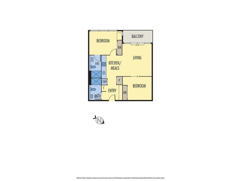 1910/639 Lonsdale Street, Melbourne, Vic 3000 - floorplan