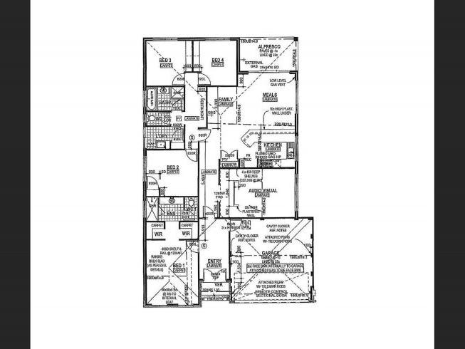 68 Durango Turn, Aubin Grove, WA 6164 - floorplan