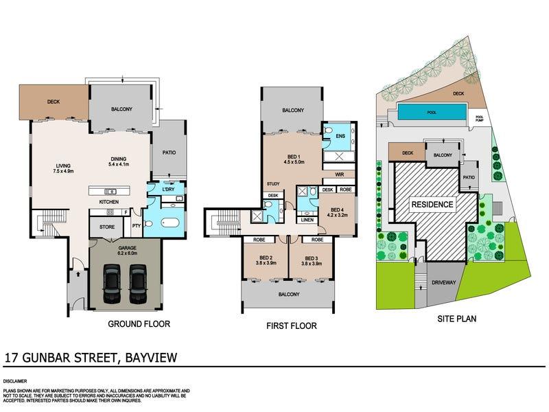 17 Gunbar Street, Bayview, NT 0820 - floorplan