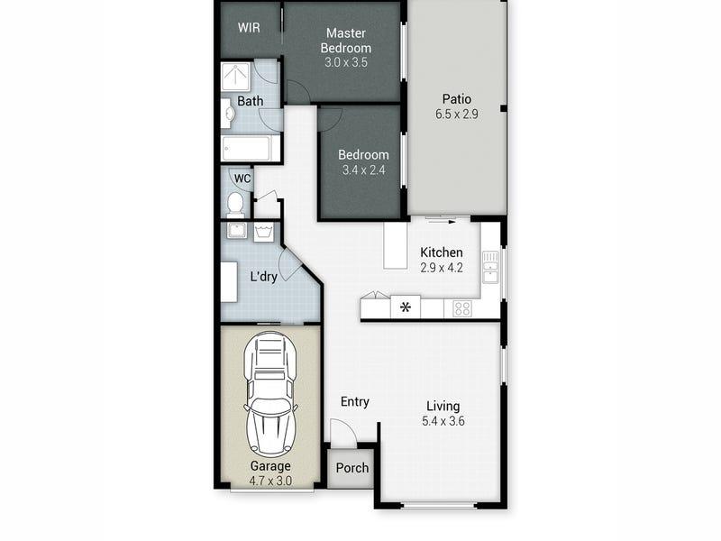 5B Poplar Place, Nerang, Qld 4211 - floorplan