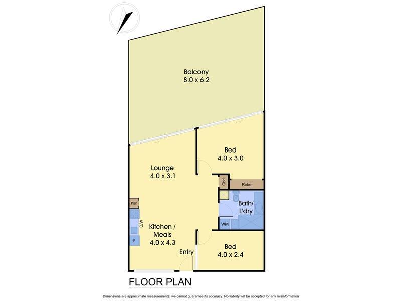1505/555 Flinders Street, Melbourne, Vic 3000 - floorplan