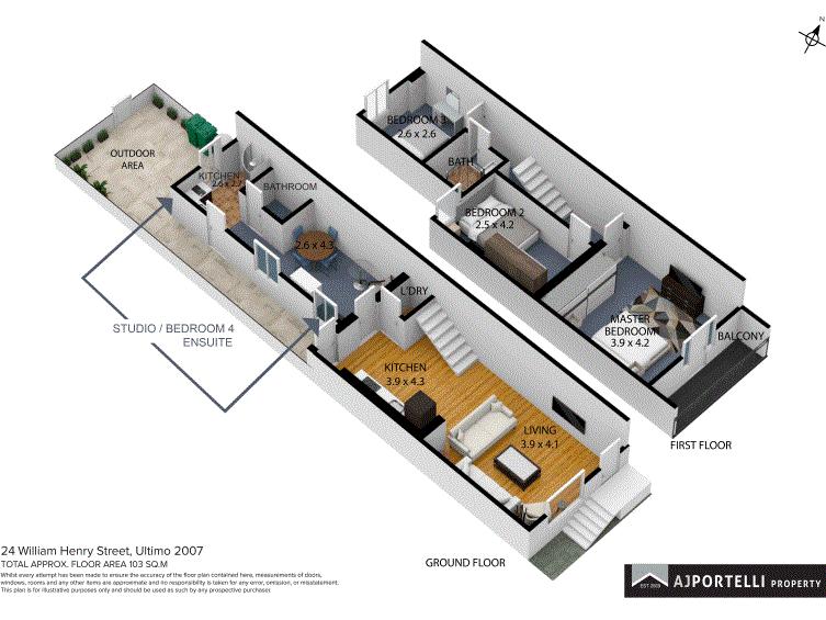 24 William Henry Street, Ultimo, NSW 2007 - floorplan