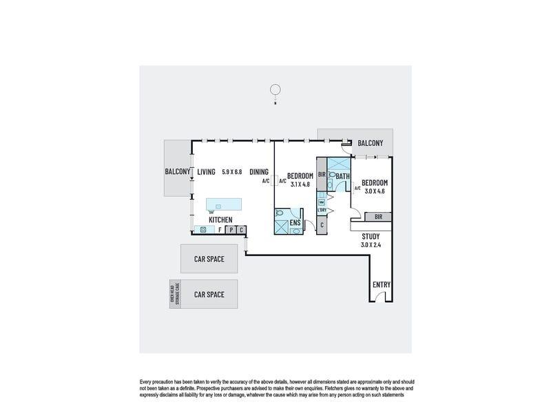 205/121 Barkers Road, Kew, Vic 3101 - floorplan
