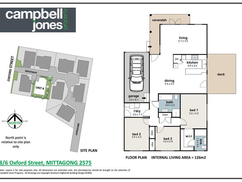 8/6 Oxford Street, Mittagong, NSW 2575 - floorplan
