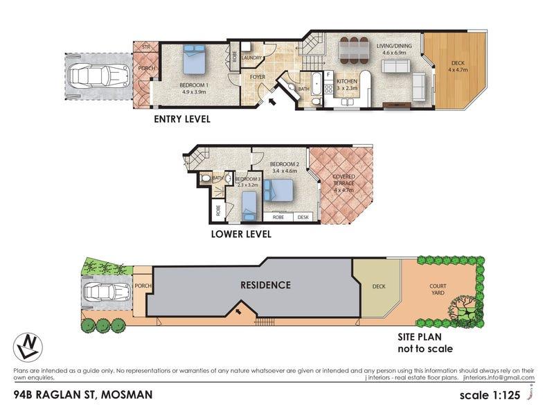 94B Raglan Street, Mosman, NSW 2088 - floorplan