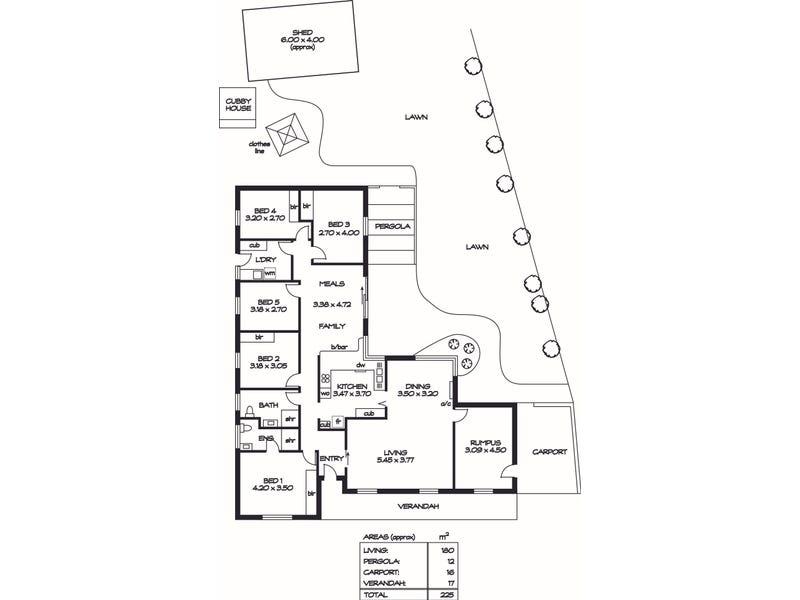 7 Rankeys Hill Road, Hawthorndene, SA 5051 - floorplan