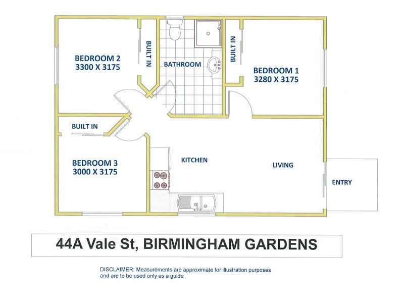 44a Vale Street, Birmingham Gardens, NSW 2287 - floorplan