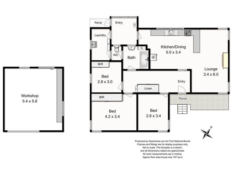 11 Oates Street, Montello, Tas 7320 - floorplan