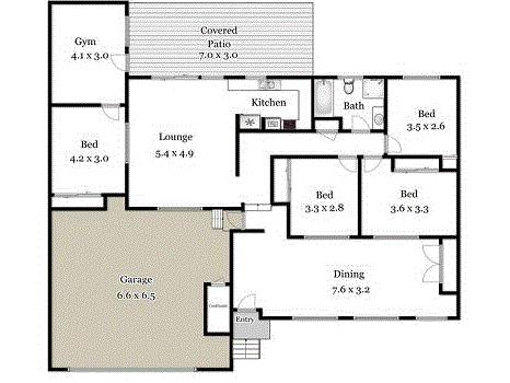 13 Miskin Street, Nerang, Qld 4211 - floorplan