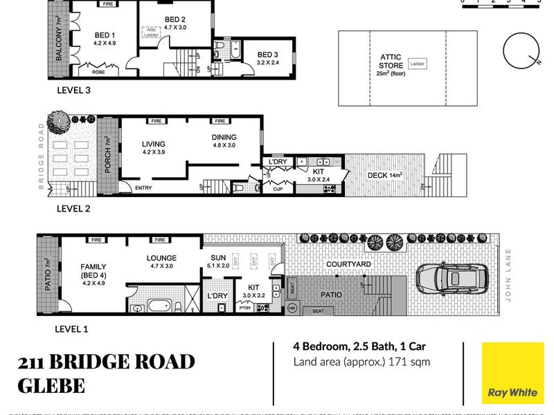 211 Bridge Road, Glebe, NSW 2037 - floorplan