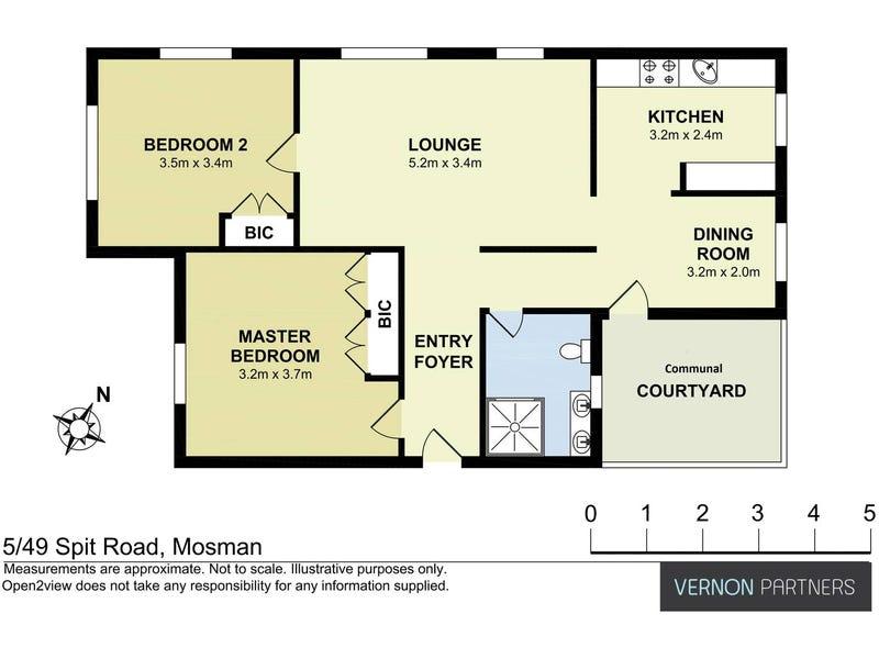 5/49 Spit Road, Mosman, NSW 2088 - floorplan