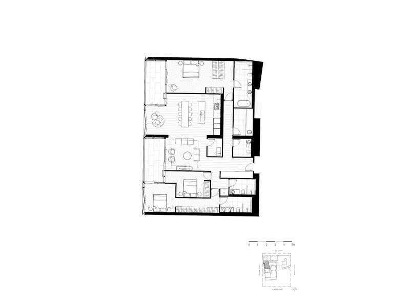 3514/439 Collins Street, Melbourne, Vic 3000 - floorplan