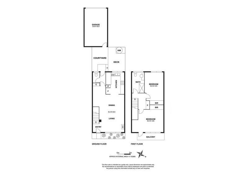6/1 Mabel Street, Ivanhoe, Vic 3079 - floorplan