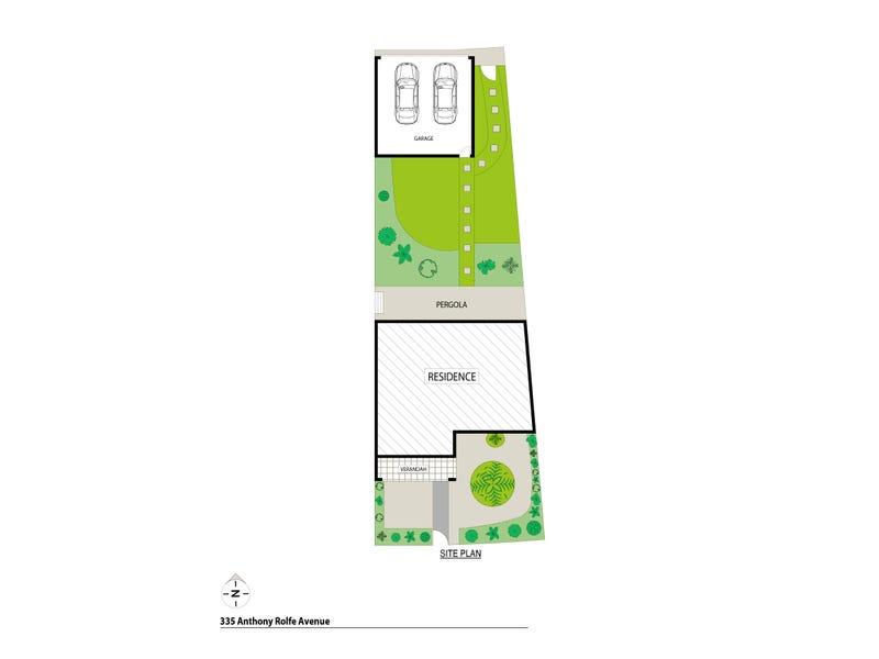 335 Anthony Rolfe Avenue, Gungahlin, ACT 2912 - floorplan