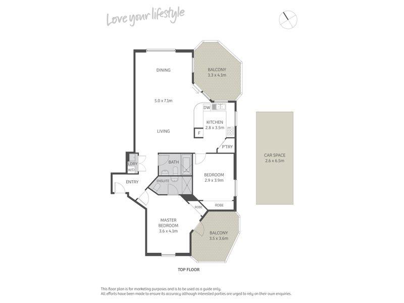 22/29 Cook Street, Glebe, NSW 2037 - floorplan