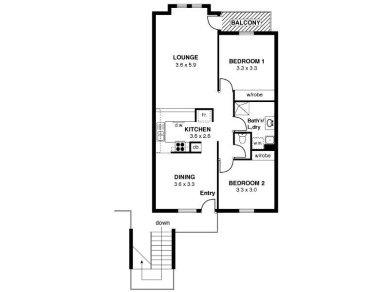 14/41 Hurtle Square, Adelaide, SA 5000 - floorplan