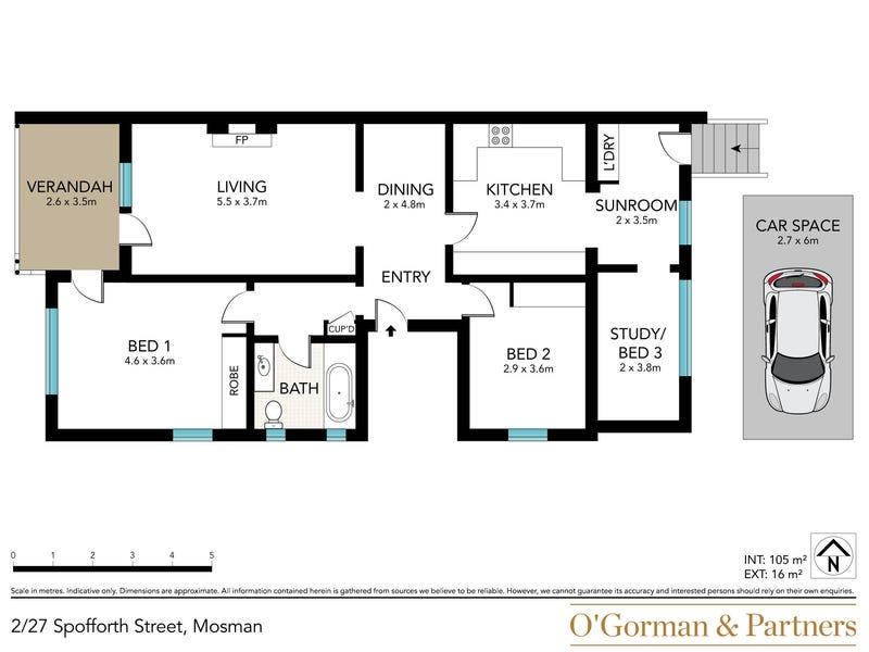 2/27 Spofforth Street, Mosman, NSW 2088 - floorplan