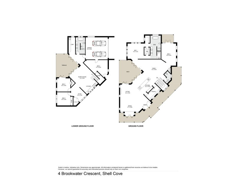 4 Brookwater Crescent, Shell Cove, NSW 2529 - floorplan