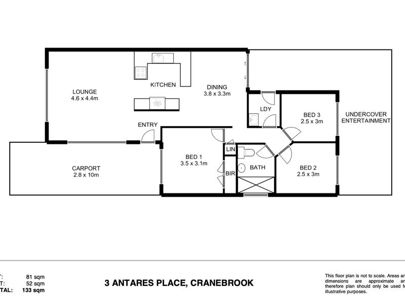 3 Antares Place, Cranebrook, NSW 2749 - floorplan