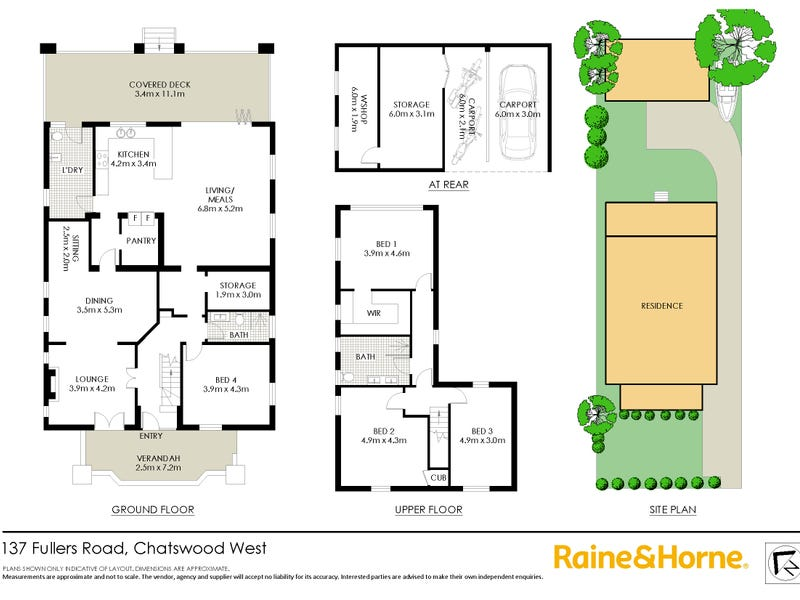 137 Fullers Road, Chatswood, NSW 2067 - floorplan