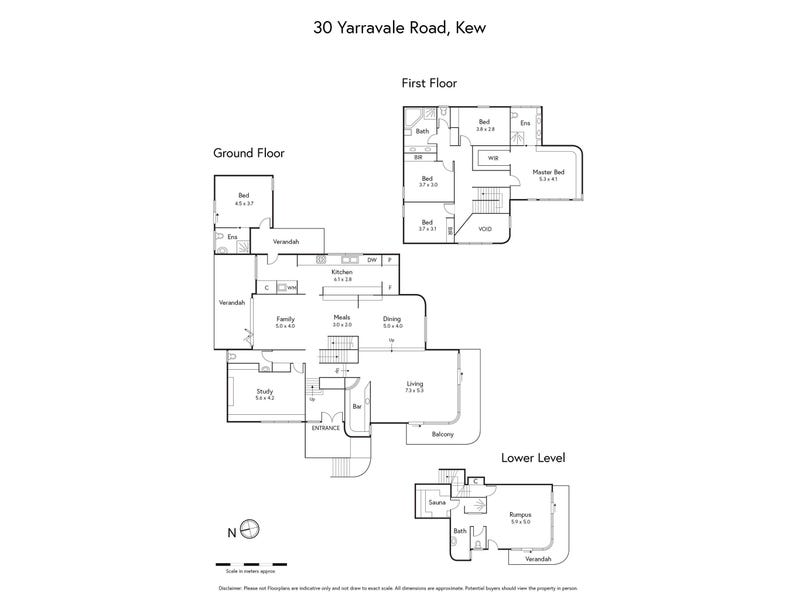 30 Yarravale Road, Kew, Vic 3101 - floorplan