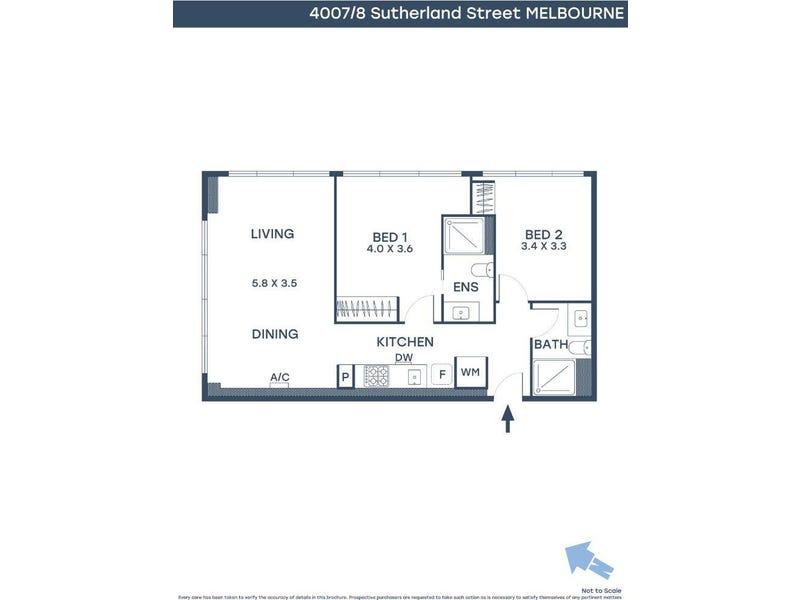 4007/8 Sutherland Street, Melbourne, Vic 3000 - floorplan