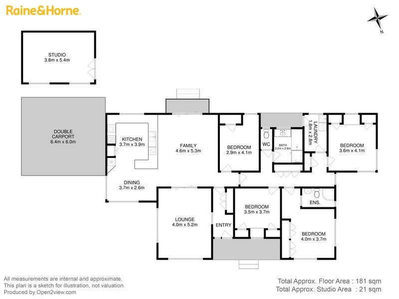 8 Welcome Avenue, Kingston, Tas 7050 - floorplan